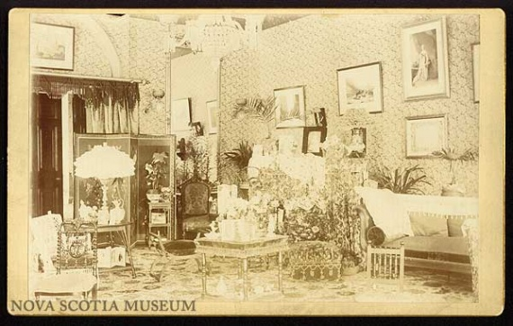 Drawing Room of Government House circa 1890-1900