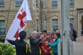 Treaty Day Flag Raising Government House