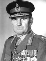 Major General The Honourable Edward Chester Plow, CBE, DSO, CD