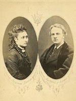 Princess Louise (1848-1939) and the Marquis of Lorne (1845-1914)