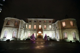 Government House at night