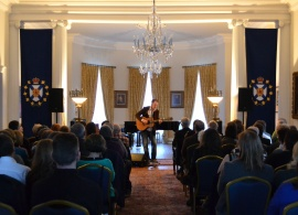 Dave Gunning Performs at Government House March 18 2014