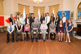 Their Honours with Respectful Citizenship Award Recipients