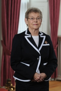 Her Honour Mrs. Joan Grant Official Photo